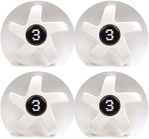 4 Piezas Coche Tapacubos para Tesla Model 3, con Emblema De Insignia Embellecedor Central De Llanta De Rueda Cubre Car-Styling Accesorios