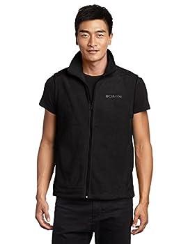 Columbia Men s Big & Tall Cathedral Peak II Fleece Vest Black 3X