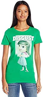 Fifth Sun Juniors Inside Out Disgust Graphic Tee