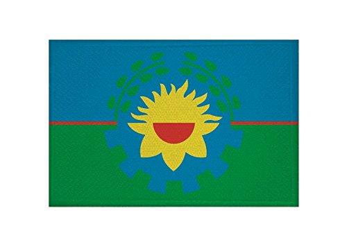 U24 Aufnäher Buenos Aires Provinz Flagge Aufbügler Patch 9 x 6 cm