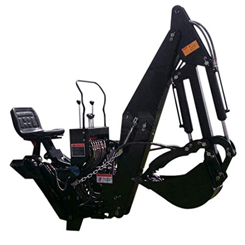 7' ft 3 Point Backhoe with Thumb Excavator Attachments...