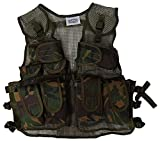 Kids Army Combat Multi-Pocket Adjustable Camouflage Vest