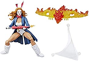 Marvel Spider-Man Legends Series 6-inch Collectible Action Figure Marvel's White Rabbit Toy, Buid-A-Figure Pieces and...