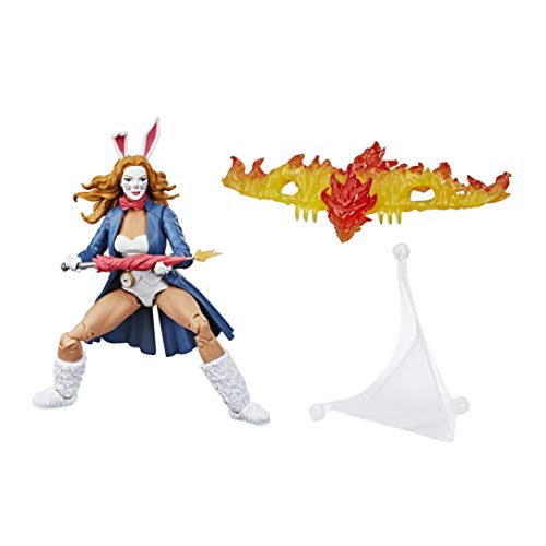Spider-Man Hasbro Marvel Legends Series 6' Collectible Action Figure Marvel's White Rabbit Toy, Buid-A-Figurepiece & Accessory