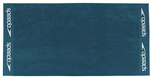 speedo bath towel, beach towel, towel, plain colors with logo print 100x180cm: Colour: Blue