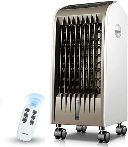 Climatizzatore Portatile Raffreddatori evaporativi Condizionatore d'aria evaporativo portatile, Controllo remoto Radiatore dell'aria muto con ventilatore, umidificatore e depuratore Ventilatore raffre