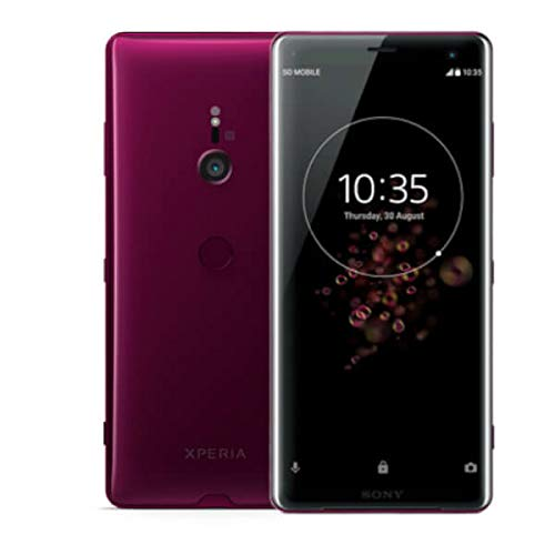 Sony Xperia XZ3 Smartphone (15, 2 cm (6 pollici), display OLED, Single-SIM, 64 GB di memoria interna e 4 GB di RAM, tecnologia TV BRAVIA, IP68, Android 9.0), bordeaux