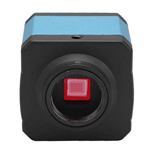 Microscope Fotocamera 14MP USB HDMi, Digitale Microscopio Videocamera a C-Mount con Software e Telecomando IR(EU Plug 220V)