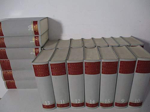 Kindlers Neues Literatur-Lexikon. - [Leinenausgabe, 20 Bände].
