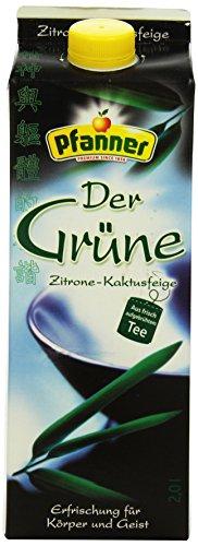 Pfanner Der Grüne Zitrone-Kaktusfeige, 6 x 2 l Packung