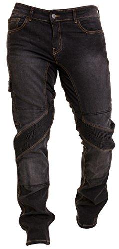 Qaswa herr motorcykelbyxor jeans motorcykel byxor motorcykelklädsel skyddskläder motorcykel biker Pants