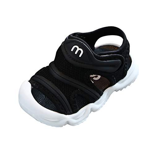 YWLINK Zapatos De Primer Paso Sandalias Antideslizantes De Verano para BebéS Zapatillas De Playa De Fondo Suave Zapatos Casuales para NiñOs PequeñOs Fiesta De Bautizo Regalo De CumpleañOs