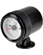 E Support Instrumento para medir la presión, 2 pulgadas,52mm, coche, universal, luz LED, en bares, al vacío