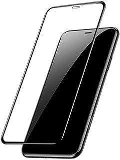 شاشة حماية من الزجاج المقوى لهاتف ابل ايفون اكس ار - اسود 5D