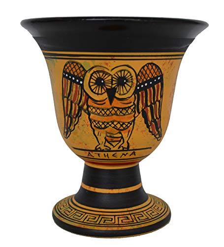 Talos Artifacts Pythagoras Tasse - Pythagoras Messbecher der Gerechtigkeit mit Eulengöttin Athena Symbol
