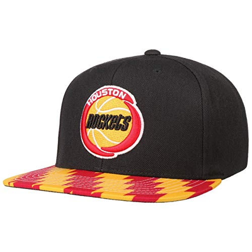 Mitchell & Ness Cappellino Team Dna Rockets& Snapback cap Cappello Hiphop Taglia Unica - Nero