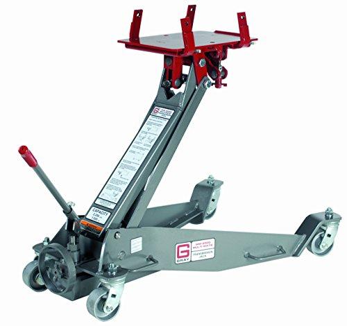 Gray MM-2000 Truck Floor Transmission Jack, 2206 Lb, Gray