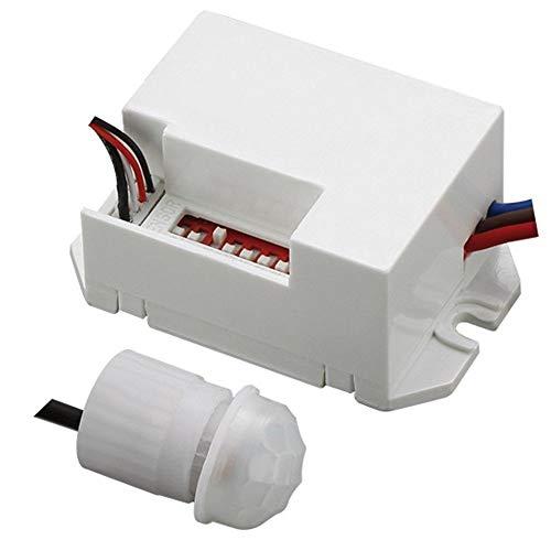 Maclean Energy MCE32 - Detector de Movimiento 800W 360° Sensor Exterior PIR