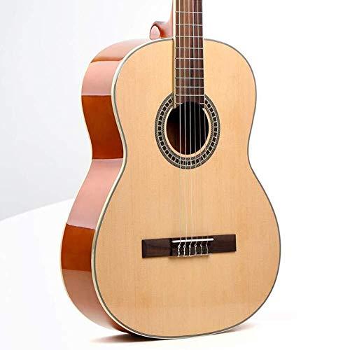 Guitarra eléctrica Guitarra acústica de 39 pulgadas de madera clásica de la...