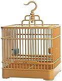 HLZY Jaula de pájaros de Parrot de Vuelo Grande para De Vuelo Jaula Calidad Pájaro Pájaro Jaula Creativa Loro Canario Pájaro Cause Suministros para Mascotas Hundido