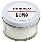 Tarrago | filling paste jar 50ml | pasta de relleno para reparar cuero, cuero sintético y goma (incoloro 00)
