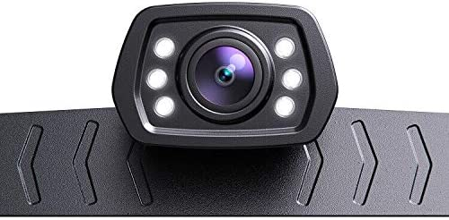 ZEROXCLUB 2021 HD Backup Camera for Car Pickup Trucks SUVs Vans RVs License Plate Rearview Reversing product image