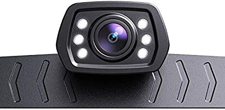 ZEROXCLUB 2021 HD Backup Camera for Car Pickup Trucks SUVs Vans RVs License Plate Rearview Reversing Camera Night Vision I... photo