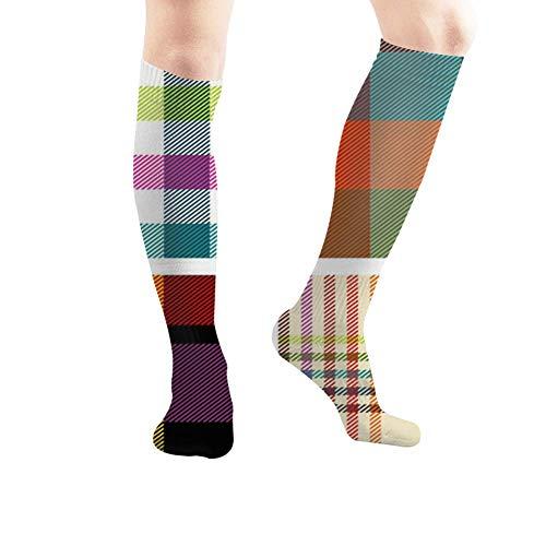 Fashion boutique clothing Retro S Illustrations Clip Art Tube Knee High Socks 50Cm Unisex Over-The-Calf Tube Sports Socks Extra Long Compression Stocking