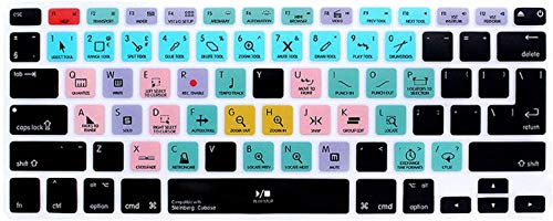 Who-Care For Steinberg Cubase Shortcuts Function Keyboard Cover Keypad Skin For Macbook For Air Pro For Retina 13