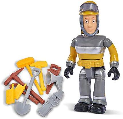 Simba 109251056 Fireman Sam unique Figurine avec accessoires III//6 dessins//