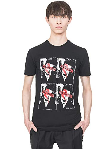Antony Morato MMKS01743 FA120001 9000 - Camiseta de manga corta