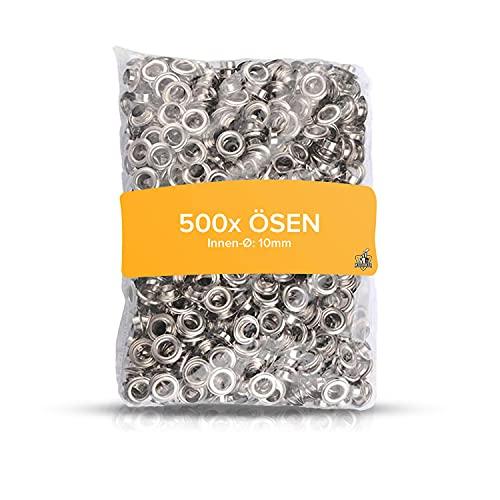 Meisterfaktur 500 ojales (diámetro interior de 10 mm) – apto para los alicates Meisterfaktur.