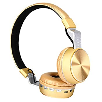 Stylish Bluetooth Headset Wireless On-Head Earphone Active Noise Cancelling Headphones Adjustable Headband Built-In Mic & Airplane Adapter Compatible with Xbox Switch PS4 Laptop PC Mac iPad