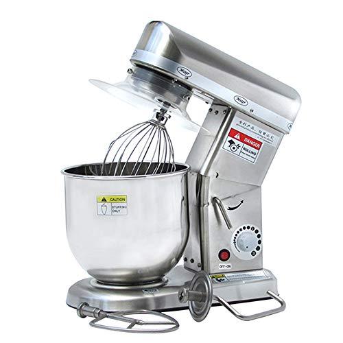 YGCLDRYERS Batidoras De Pie,con 7 litros Acero Inoxidable Batidoras Amasadoras Licuadoras,para Cocina Hornear Pastel Crema De Huevo Batidoras Y Procesadores De Alimentos