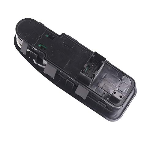 AWQC Interruptor de la Ventana Control de la Ventana eléctrica Control Compatible con Citroen Dispatch Compatible con Peugeot Expert 2007 2009 2010 2011 2012 2013 2014 2015 2016 2016 2016 reemplazo