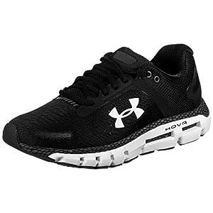 Under Armour Men's HOVR Infinite 2 Running Shoe, Black (001)/White, 12