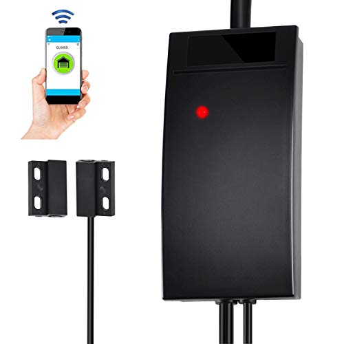 WiFi Smart Garage Door Opener Controller Compatible with Alexa...