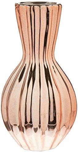 Vaso Rose Gold Em Cerâmica Mart Rose Gold