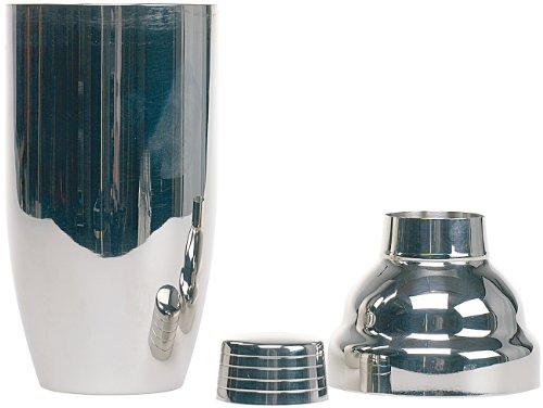 PEARL Cocktailmixer: Cocktail-Shaker 0,7l (verchromter Edelstahl) (Drinkmixer)