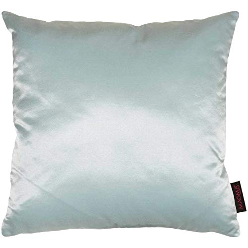 Magma Kissenhülle Charme Glanzsatin & Samt 40x40 cm oder 50x50 cm in vers. Fa...