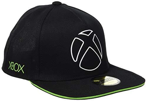 Xbox Ready To Play Snapback Baseball Cap Gorra de béisbol, Negro (Black...