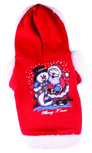Doggydolly Pull Noel pour Chien Xmas Rouge de