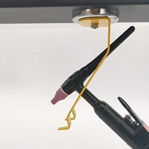 VASTOOLS Schweißen WIG-Brennerhalter/Brennerhalter mit Magnetfuß/Schweißbrenner-Halterung für WIG, MIG und PLASMA - 4