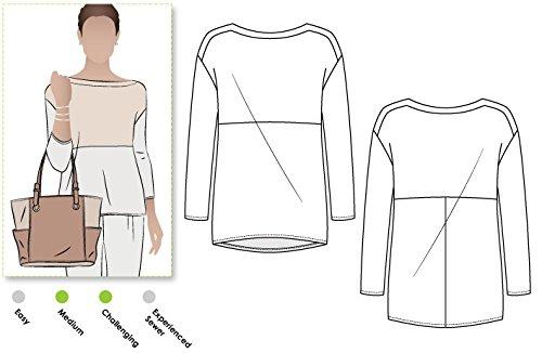 ARC Style Naaipatroon - Melinda Gebreide Tuniek