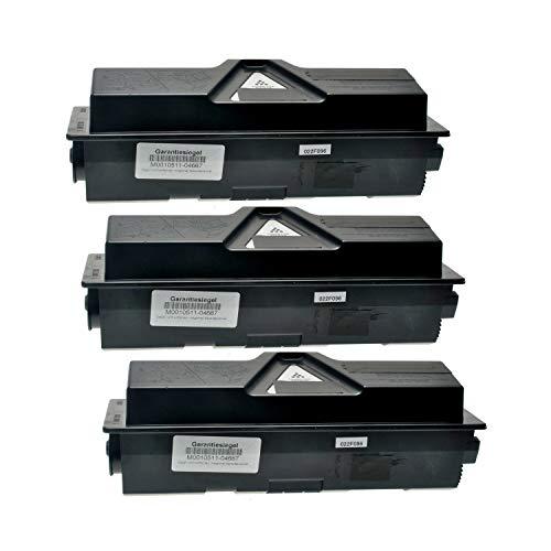 3 Toner kompatibel für Kyocera TK-160 FS-1120 DN ECOSYS P 2035 DN 2000 Series - 1T02LY0NL0 - Schwarz je 2500 Seiten