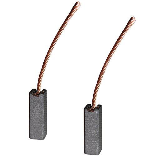 Kohlebürsten für verschiedene KFZ Motoren / 8 x 8 x 25 mm / Gebläse / Lüfter / Fensterheber / Scheibenwischer / Klima