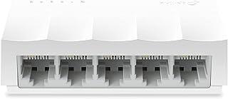 سويتش موزع شبكة من تي بي لينك LS1005، 5 منافذ - ابيض
