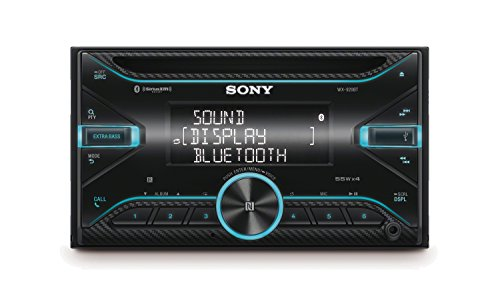 Sony WX920BT Double DIN with CD Player & Bluetooth