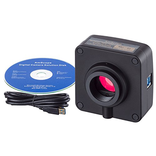 AmScope 16MP USB3.0 C-Mount USB Digital Camera