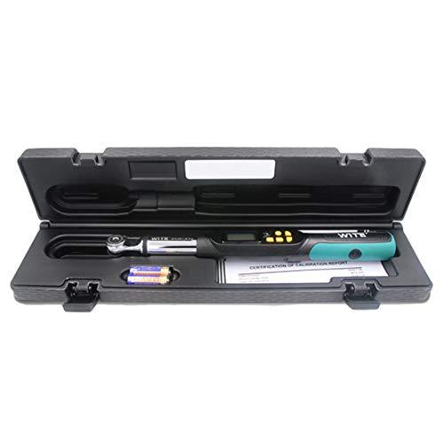 HIOD Chiave Dinamometrica Digitale 1/2, 3/8, 1/4 inch Drive 4 unità & 2 modalità, Grado Industriale Alta Precisione Chiave Dinamometrica,1/4-In-DR(1-20Nm)